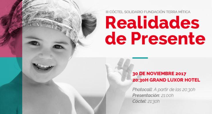 """Realidades de Presente"" cena solidaria Fundación Terra Mítica"
